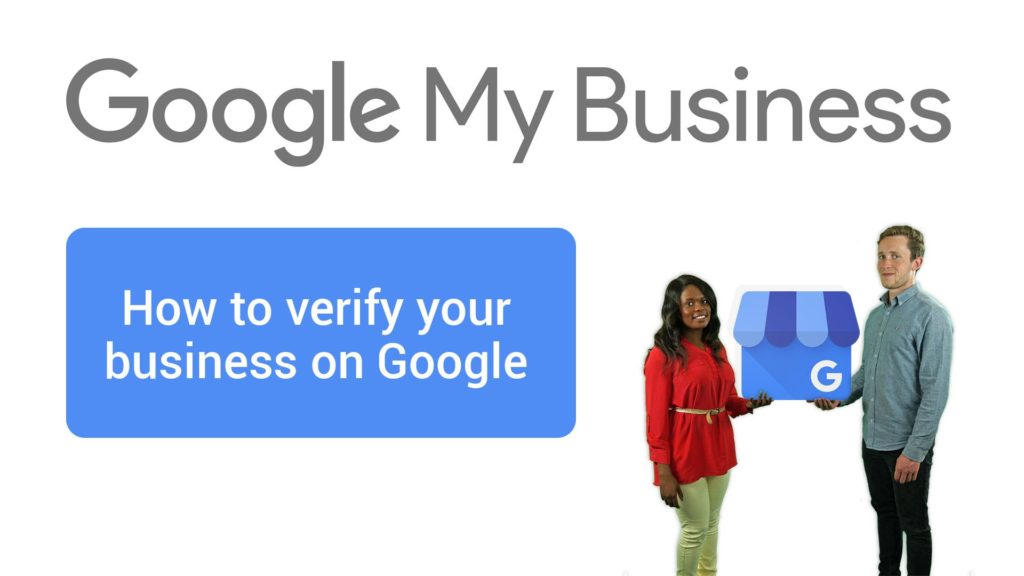 Verify your business on google